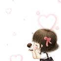 Romantic lover live wallpaper icon