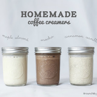 Homemade Coffee Creamers.