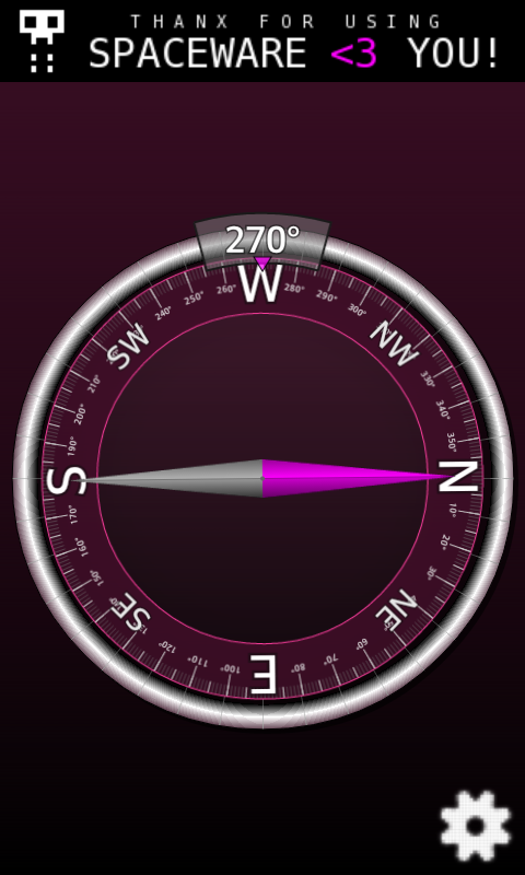 Simple Compass - screenshot