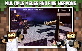 Screenshot of Block Wars : Survival City