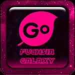 Fuchsia Galaxy Go Keyboard
