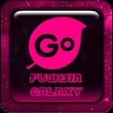 Fuchsia Galaxy Go Keyboard icon