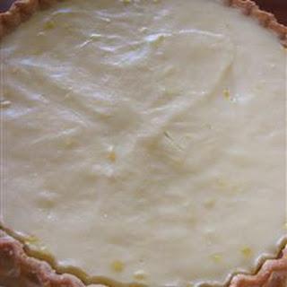 Sour Cream Lemon Pie.