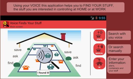 Voice Finds Your Stuff