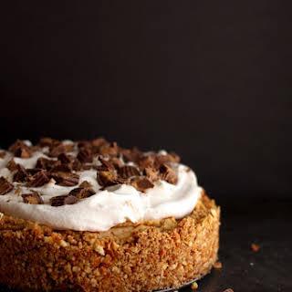 Easy Peanut Butter Pie with Pretzel Crust.