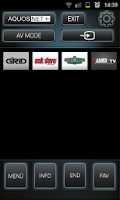 Screenshot of Sharp Smart Remote +