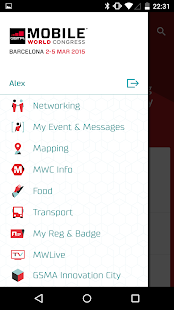 My MWC – Official GSMA MWC App - screenshot thumbnail