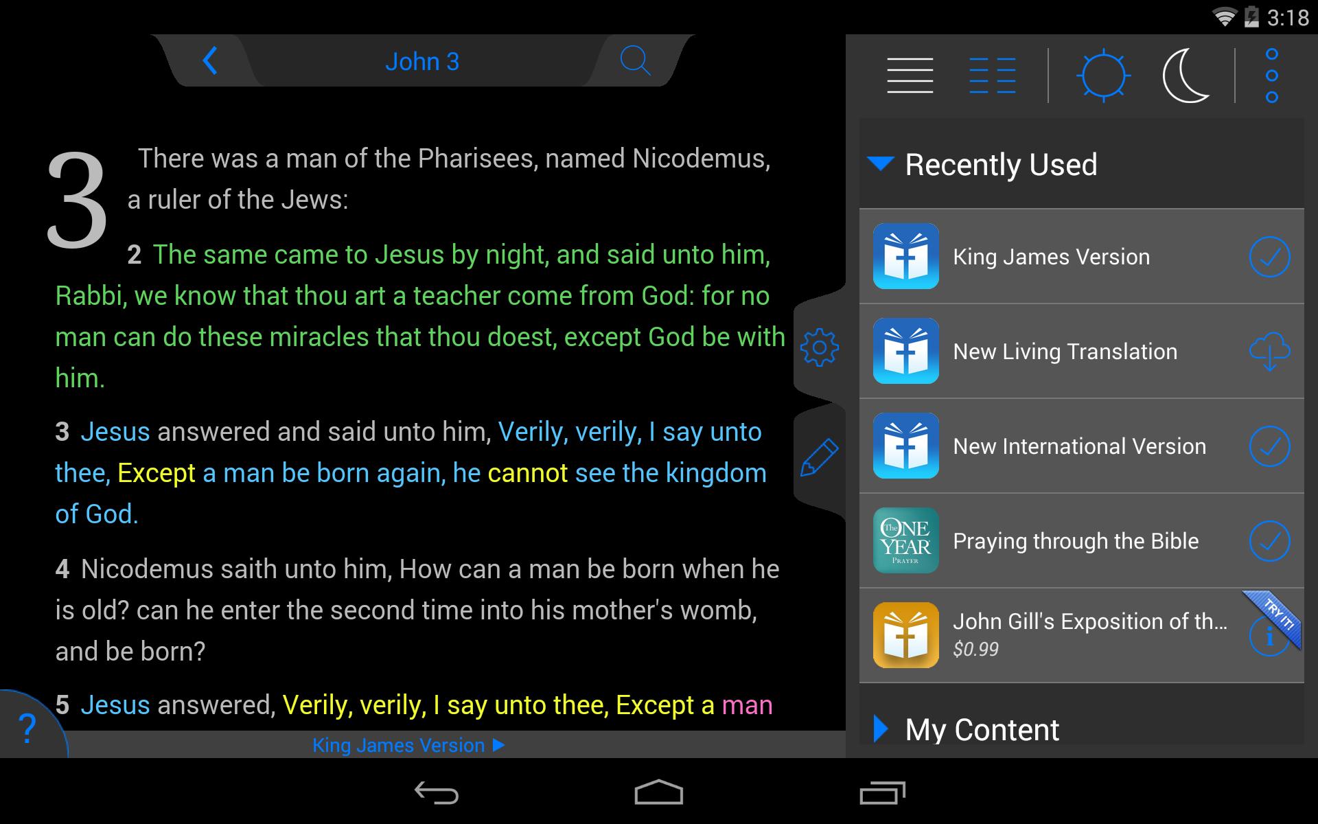 NKJV Bible screenshot #21