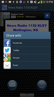 News Radio 1130 KLEY - screenshot thumbnail
