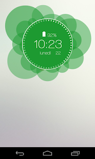 Ubu Clock for Zooper Widget - screenshot thumbnail