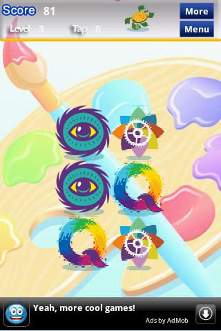Colorful Memory Game For Kids - screenshot