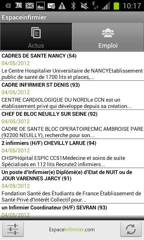 EspaceInfirmier- screenshot