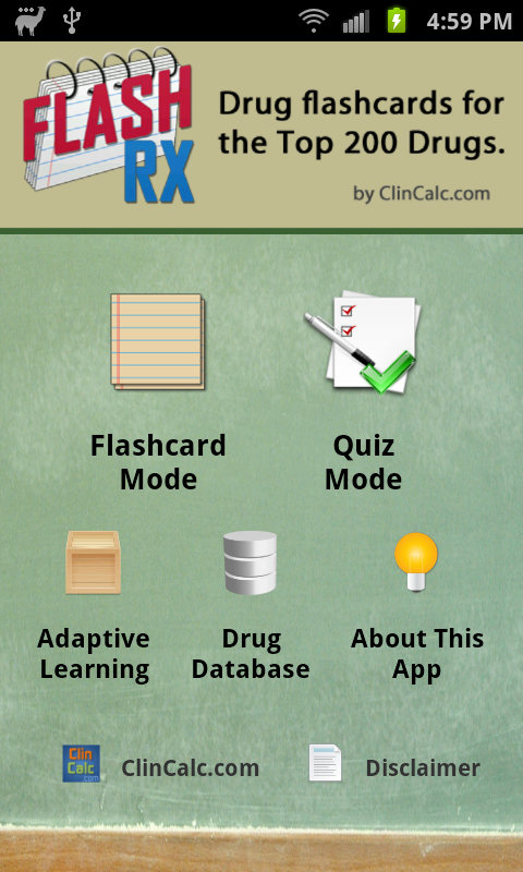 FlashRX by ClinCalc - screenshot