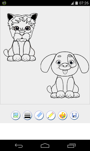 Download Dog Coloring Pages For PC