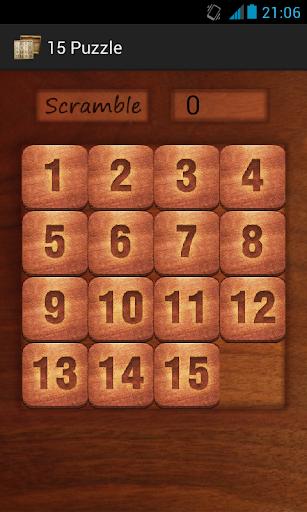 15 Puzzle Logic Game