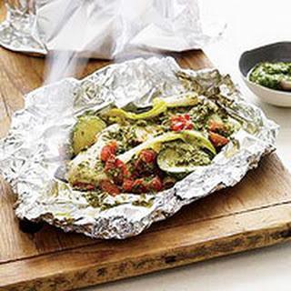 Pesto Chicken Grill Packets