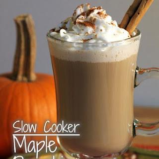 Maple Pumpkin Spice Lattes