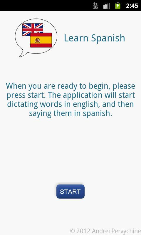 FREE Learn Spanish - Audio- screenshot