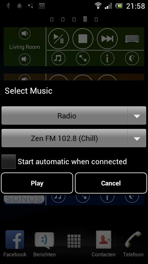 SONOS Remote Control - screenshot