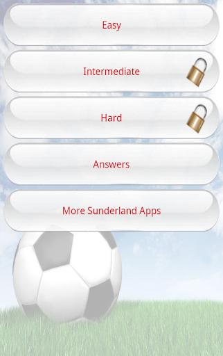 Sunderland Quiz