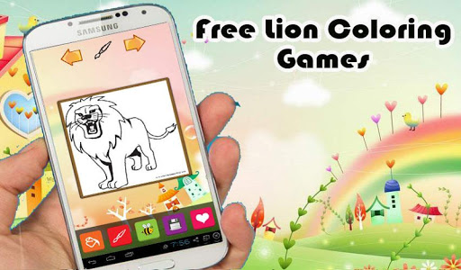 Free Lion Coloring Book