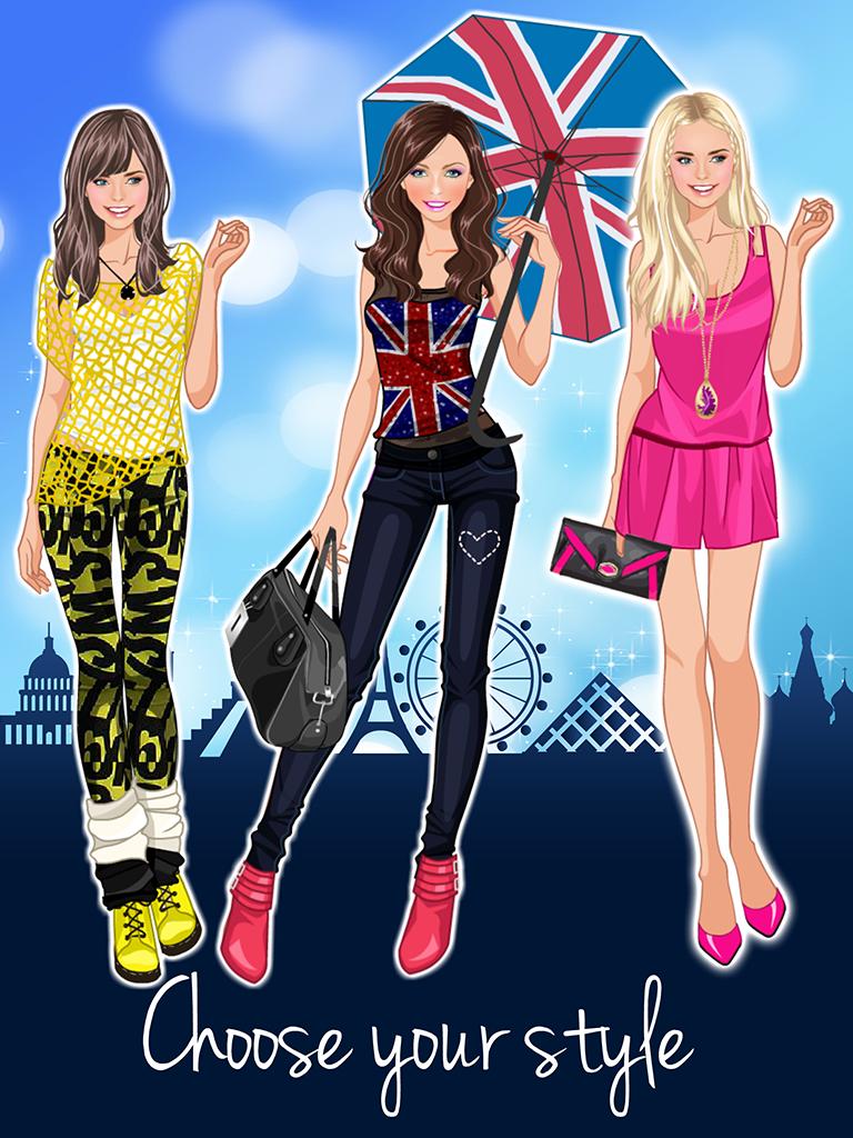 Игры для девочек модные одевалки