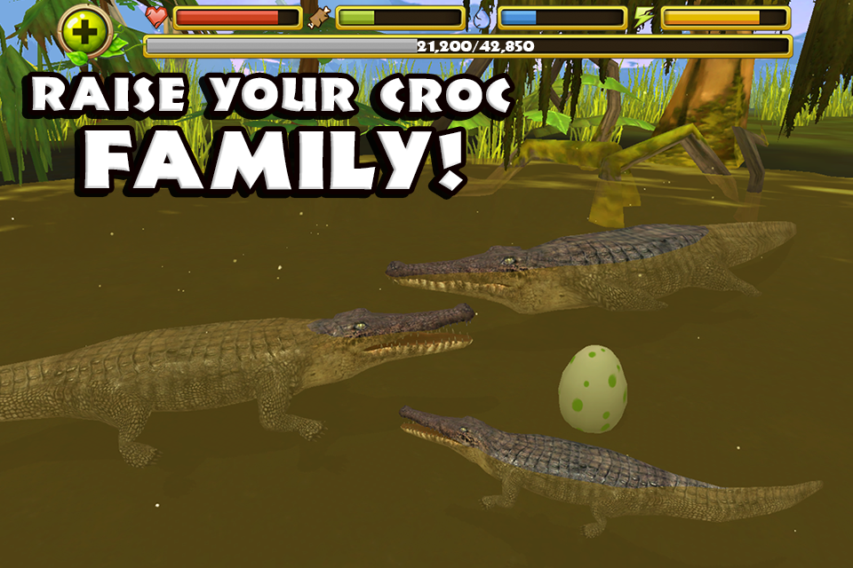 скачать wildlife simulator crocodile
