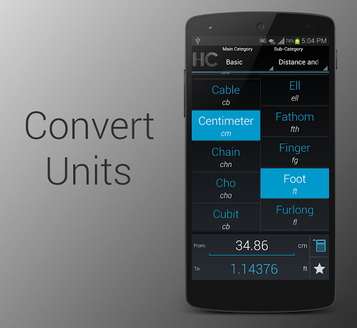 HoloConvert: Unit Converter