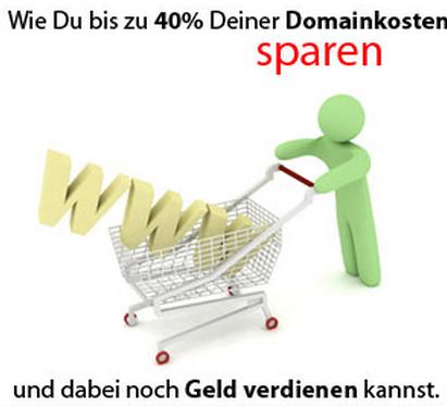 Mit Domain-Cost-Club 40% und sogar mehr bei Deinen Domainkosten sparen