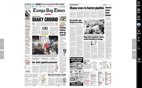 Tampa Bay Times - screenshot thumbnail