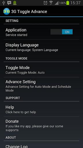 3G Toggle Advance