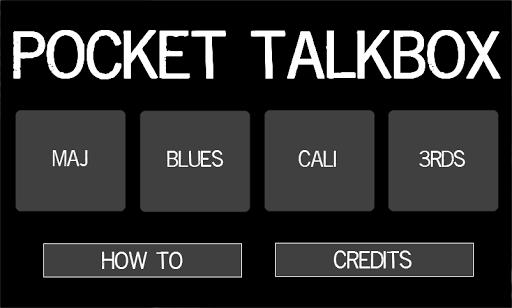 Pocket Talkbox Free