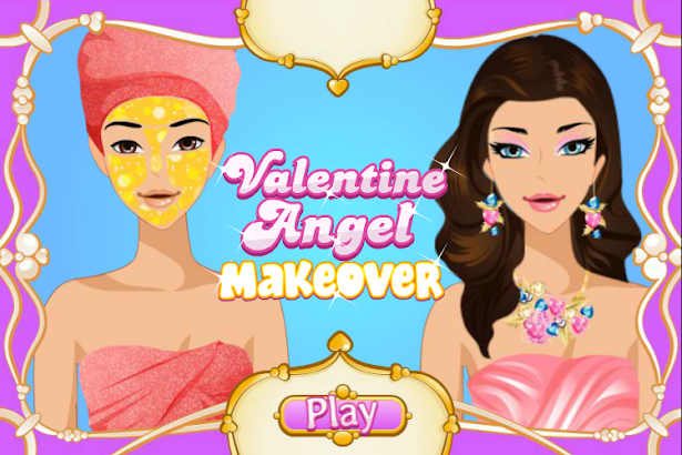 Valentine Angel Makeover- screenshot thumbnail