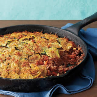 Summer Beef-and-Rice Casserole.