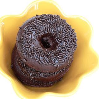 Whole Wheat Chocolate Donuts.