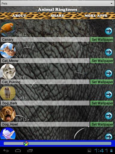 玩免費娛樂APP|下載動物の着信音 app不用錢|硬是要APP
