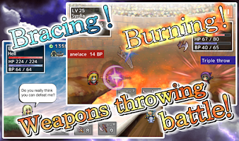 Screenshot of Weapons throwing RPG