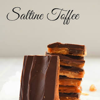 Saltine Toffee.