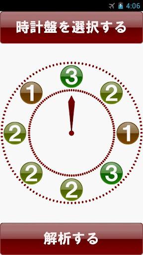 時計盤パズル