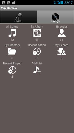 【免費媒體與影片App】迷你卡拉OK-APP點子