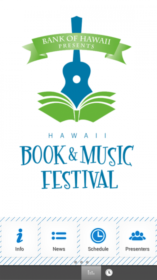 Hawaii Book and Music Festival- screenshot
