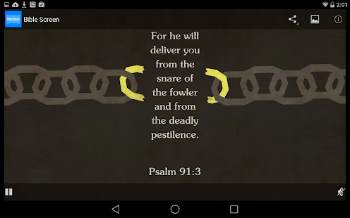 Bible Screen- screenshot thumbnail