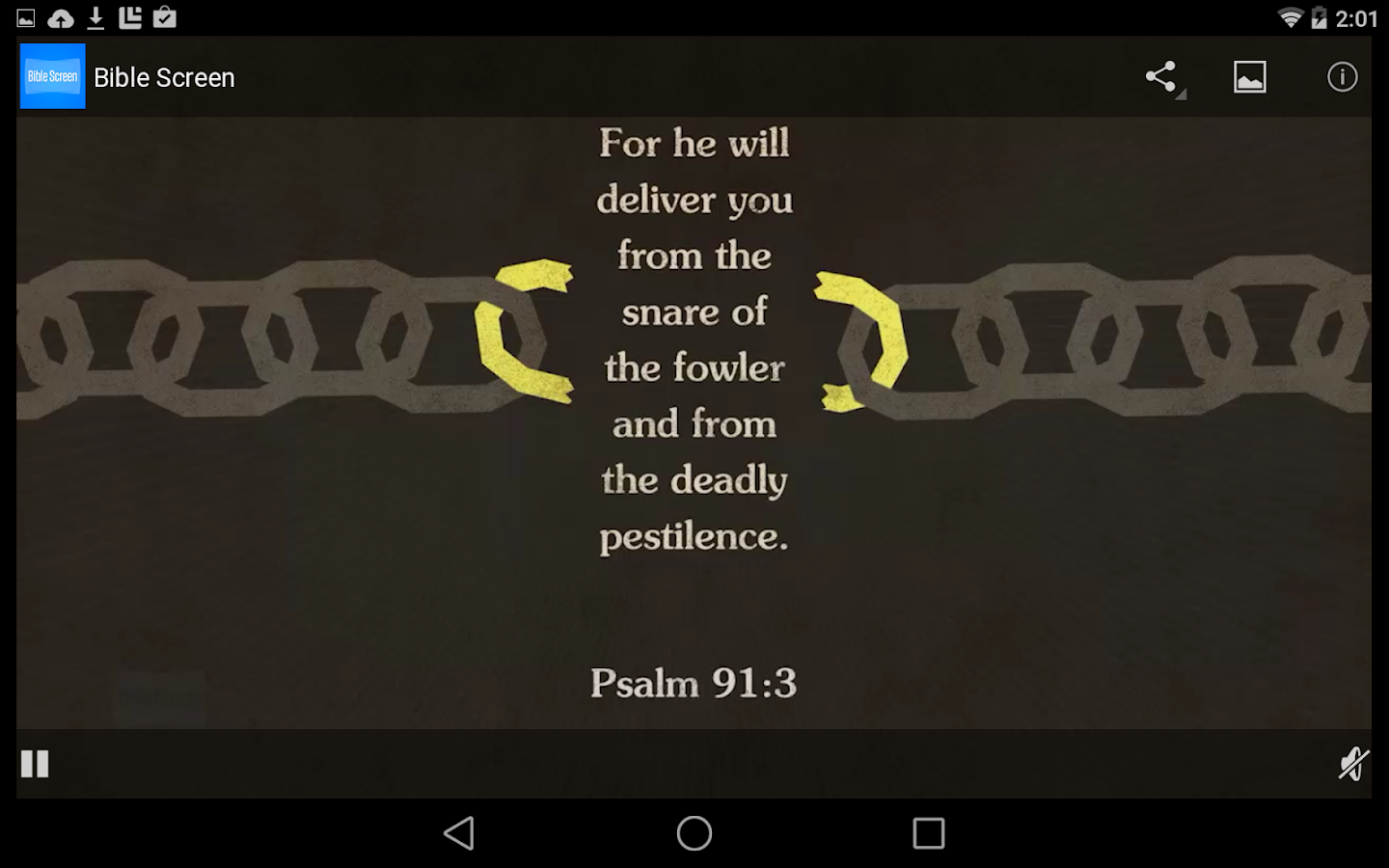 Bible Screen- screenshot