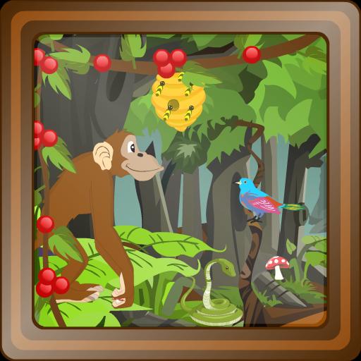 ジャングル森林エスケープ 解謎 App LOGO-硬是要APP