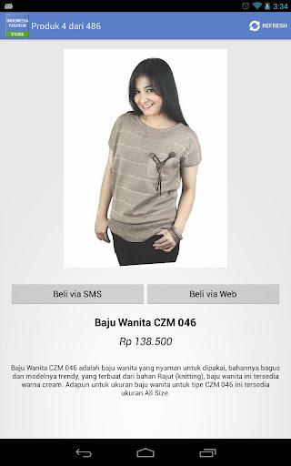Indonesia Fashion Store