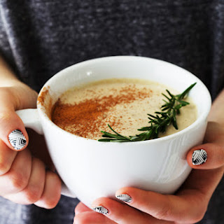 Rosemary Hot White Chocolate