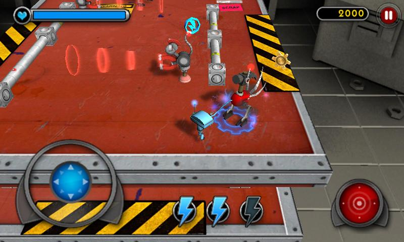 Good Robot Bad Robot 3D- screenshot