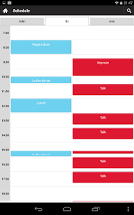 Jfokus Scheduler - screenshot thumbnail