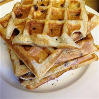 Kate's Light n' Fluffy Buttermilk and Chocolate Chip Waffles.