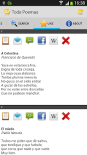 Todo Poemas Free (Spanish)- screenshot thumbnail